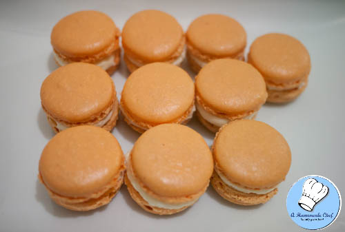 Orange Macarons-4