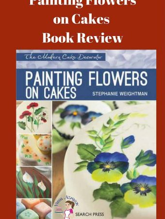 I recently posted two of my cakes using the One Stroke Painting method and this book Painting Flowers on Cakes by Stephanie Weightman. Since then I've had many of you messaging with more questions. What is One Stroke Painting, How do you paint on the Cakes? What do you use?