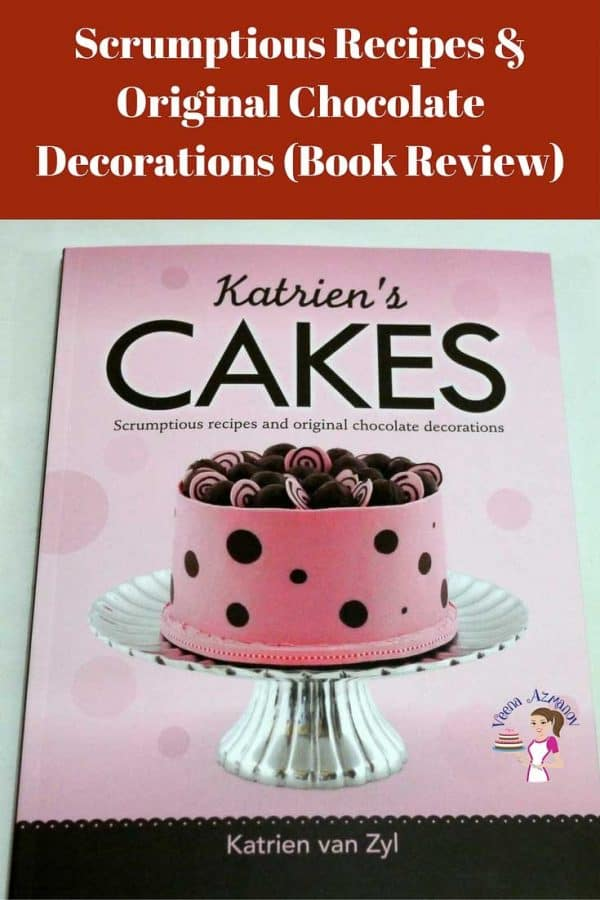 A cover of a book about cake decorating.