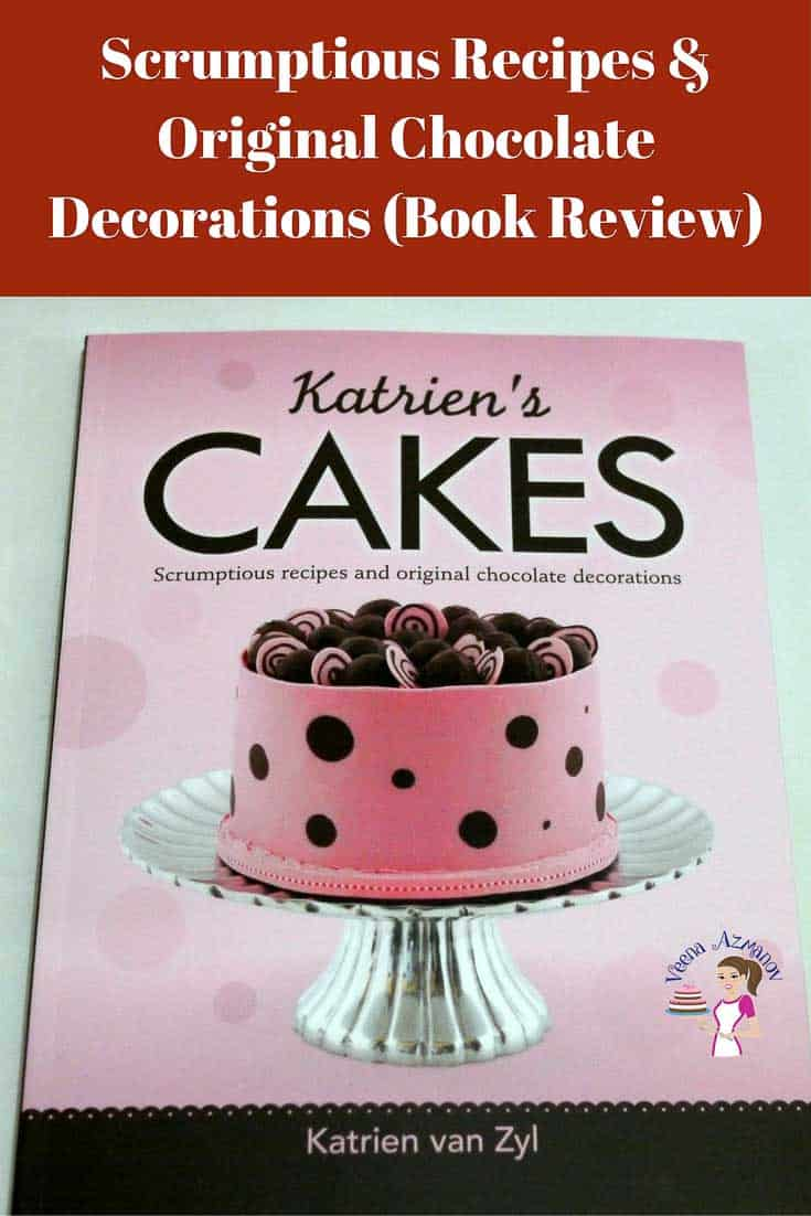 Scrumptious recipes and original chocolate decorations is an amazing book by to add to your collection if you love chocolate and working with chocolate. This book is by the lovely Katrien Van Zyl of Katrien's Cakes. Lots of colorful pictures and step by step guides for anyone to make a professional looking cake and a real treat for any chocoholic.