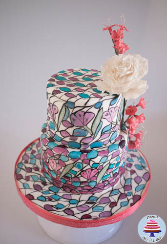Stained Glass Cake-1