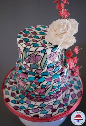 Stained Glass Cake-2