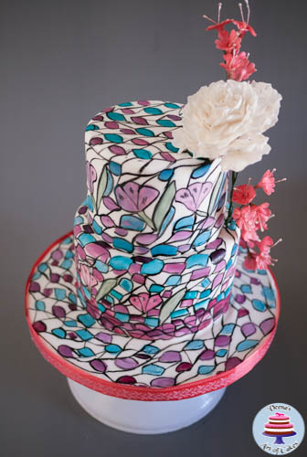 Stained Glass Cake-3