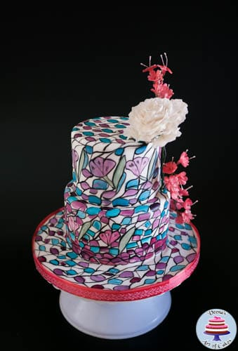 Stained Glass Cake-6