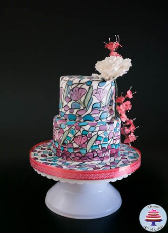 Stained Glass Cake-7