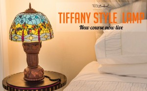 Tiffany Lamp Shade Cake