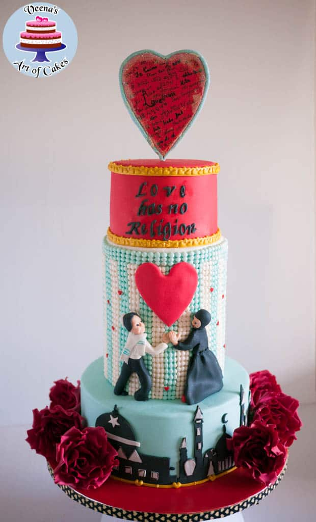 Be My Valentine Collaboration Cake