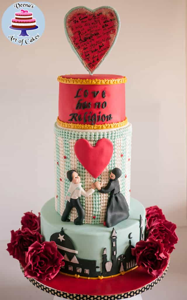 Be my Valentine cake.
