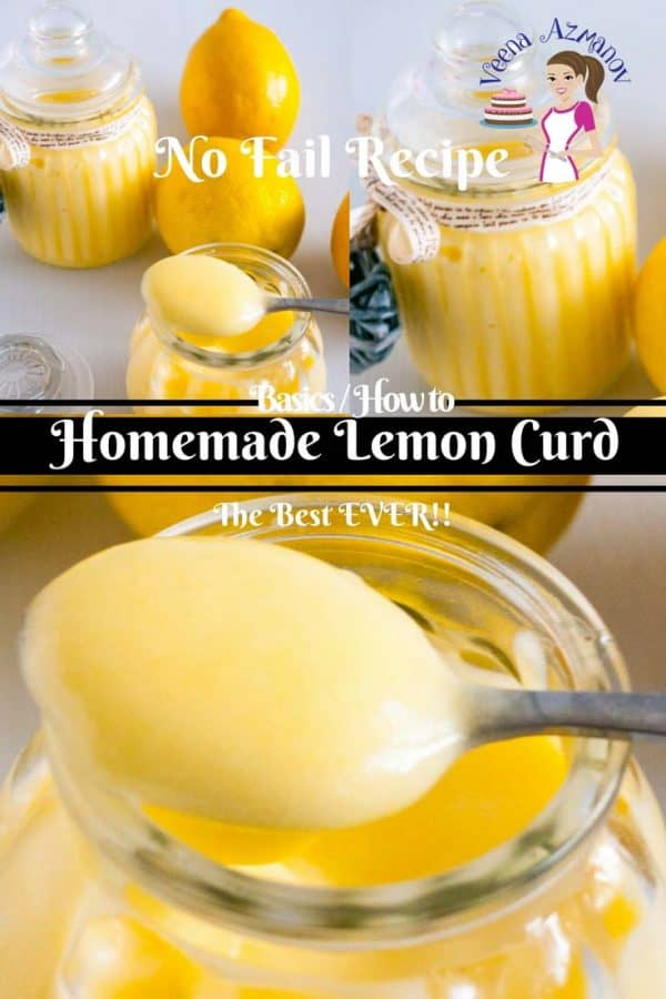 A no-fail recipe for Lemon Curd, Homemade and perfect every single time