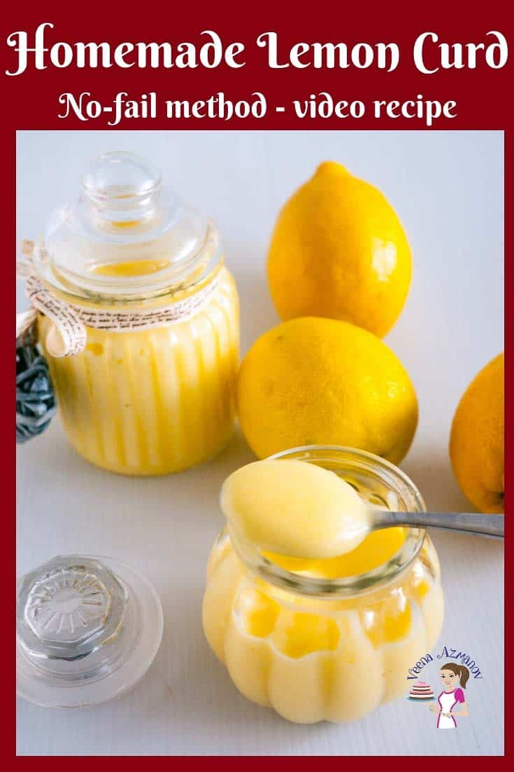 Homemade Lemon Curd Recipe -This sweet, thick, tangy, creamy and velvet-like lemon curd is luscious and luxurious with any desserts or everyday treat from cake fillings to breakfast toast. This simple, easy and effortless recipe for no-fail lemon curd recipe will give you the confidence you need to make fruit curd like never before. My step by step pictures, tips, and troubleshooting will help you master lemon curd every single time # lemon #curd #lime #filing #cake #pies #homemade #best #desserts via @Veenaazmanov