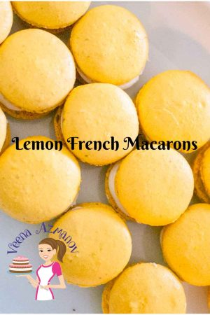 Lemon French Macarons with Lemon Buttercream