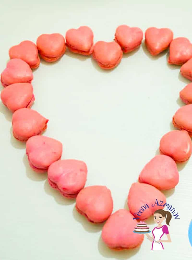 Valentine Heart Macarons – Celebrate with French Macarons