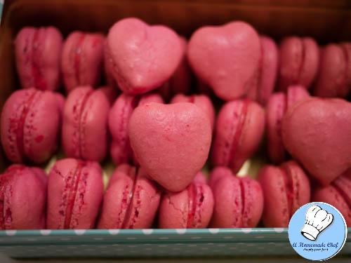 Valentine Heart Macarons-1-3