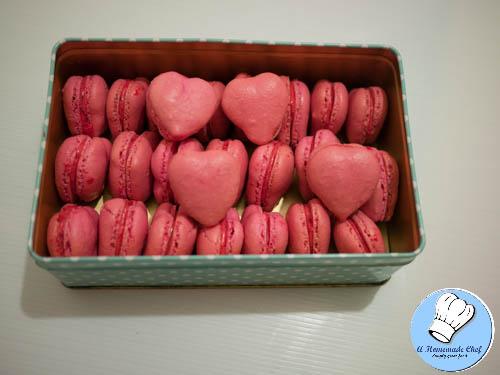Valentine Heart Macarons-1-4