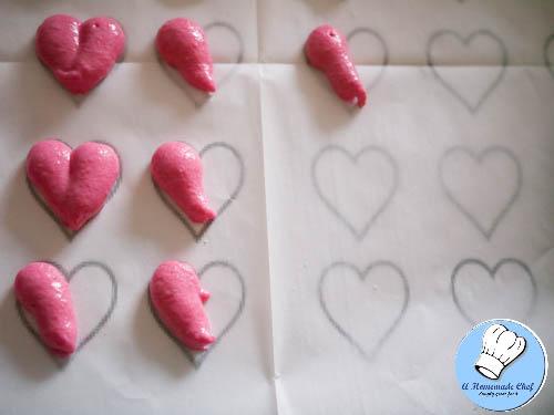 Valentine Heart Macarons-7
