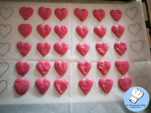Valentine Heart Macarons-8