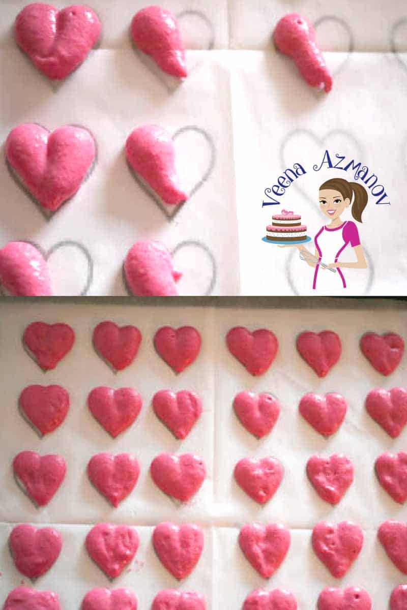 If you love making macarons than you must try these Valentine Heart Macarons. You will be surprised how easy these heart are to pipe. Nothing like turning your classic Strawberry Macaron recipe into something more special for a someone very special.