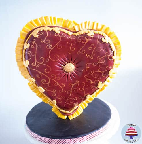 Valentine Heart Pillow-2