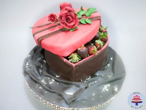 Valentine Strawberry Box-4