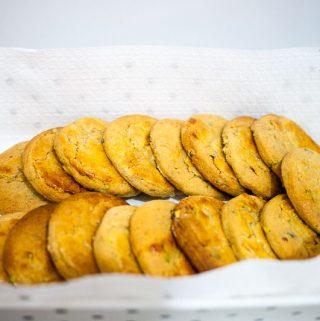 Halva cookies.