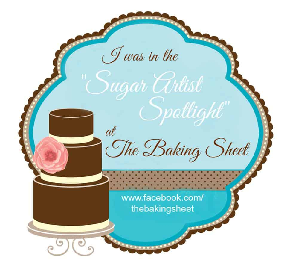 Sugar Artist Spotlight on The Baking Sheet