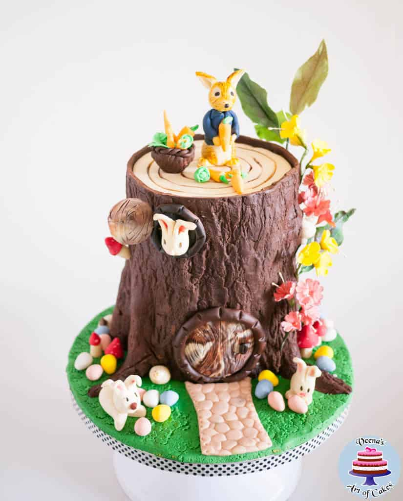 How To Make A Rabbit Cake