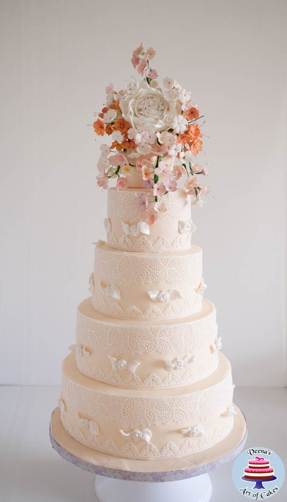 Ivory Lace Wedding-6