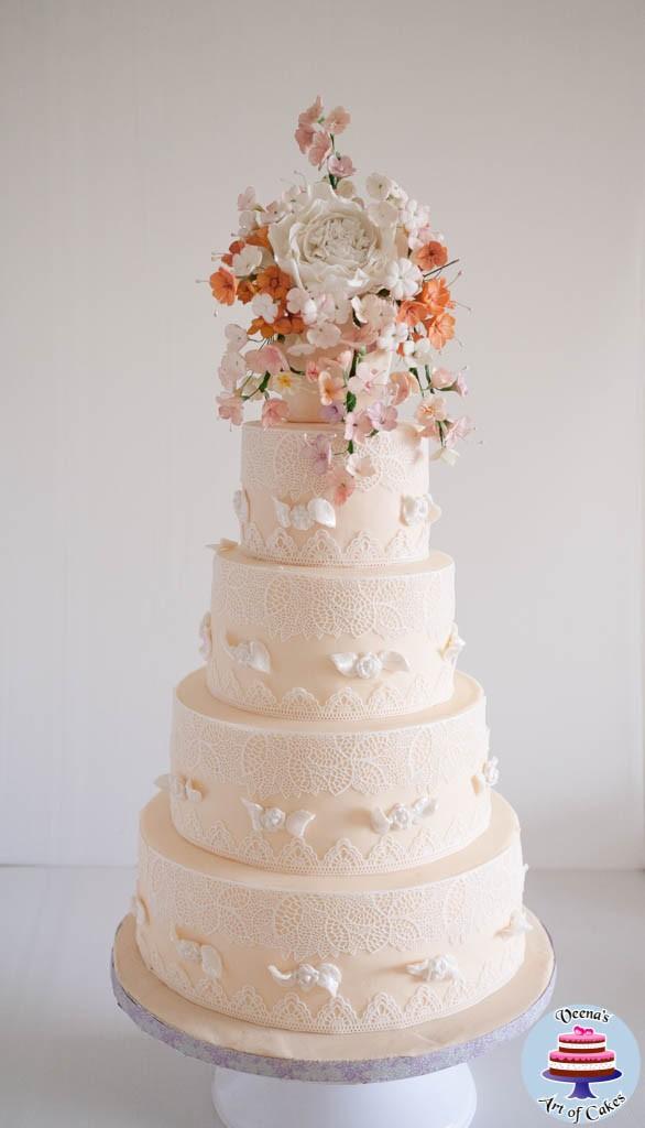 Ivory Lace Wedding-6