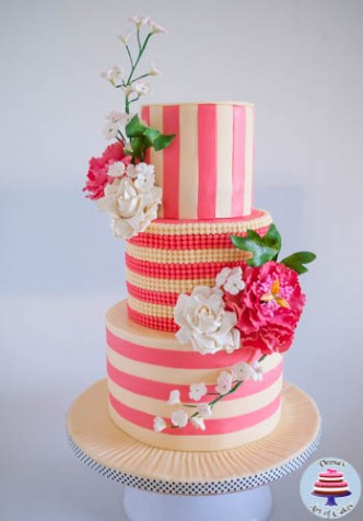Ivory and Rose Pink Wedding-3