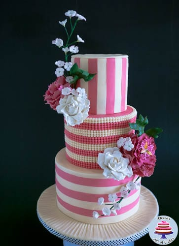 Ivory and Rose Pink Wedding-5