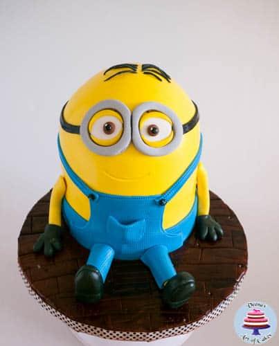 Minion Cake-29