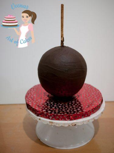 Cinderella Carriage Cake Tutorial