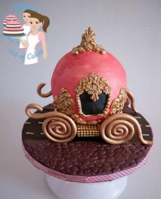 Cinderella Carriage Cake – Cake Decorating Tutorials