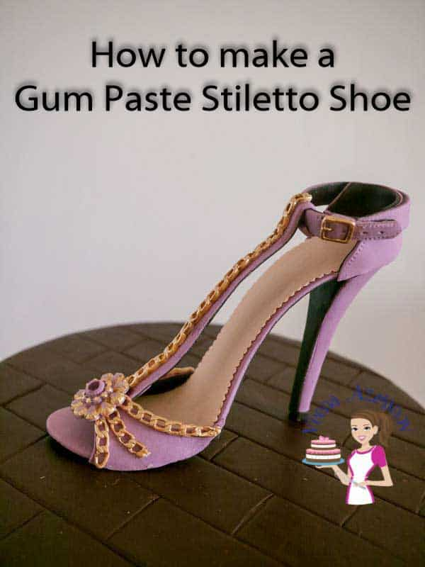 Gum Paste Stiletto Shoe Tutorial