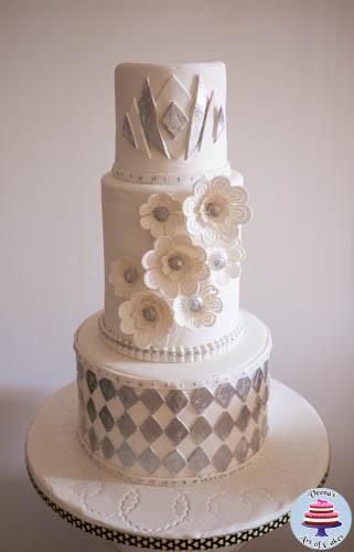 Art Decor wedding cake