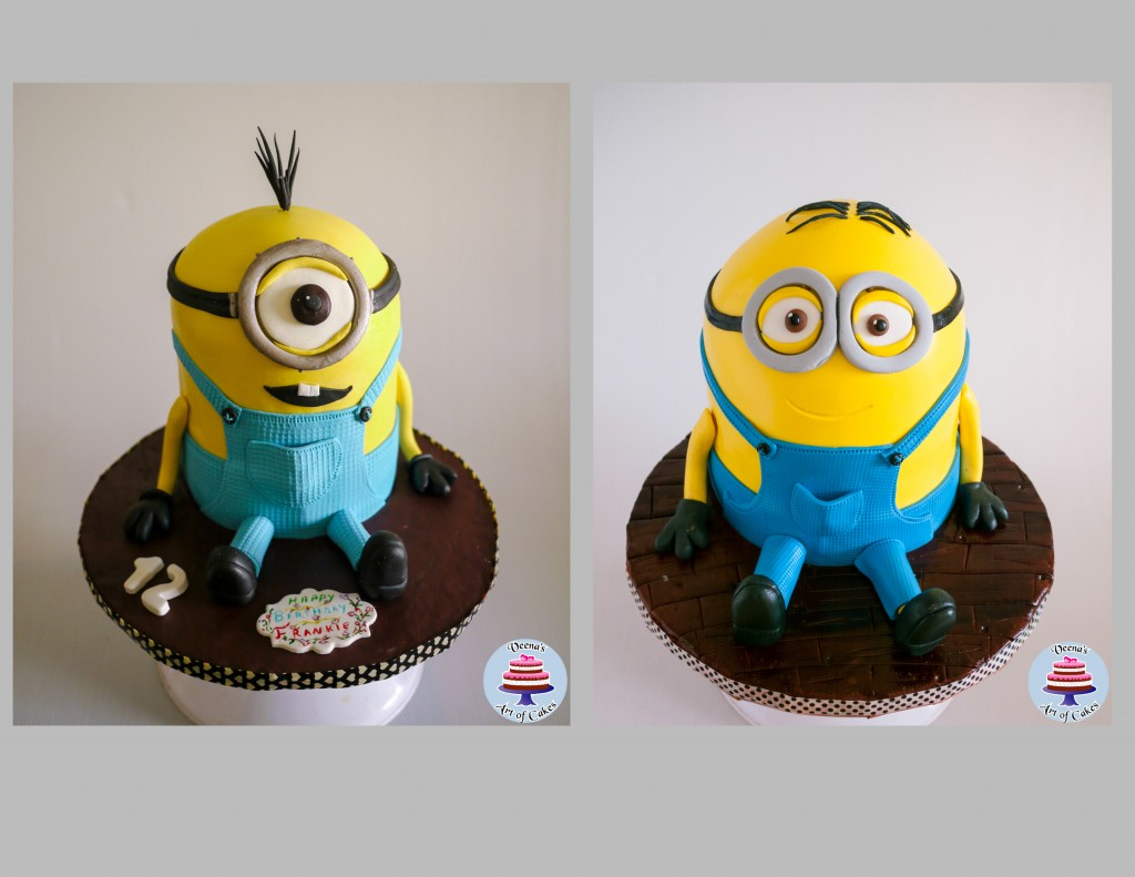 Kevin the minion Cake Veena Azmanov