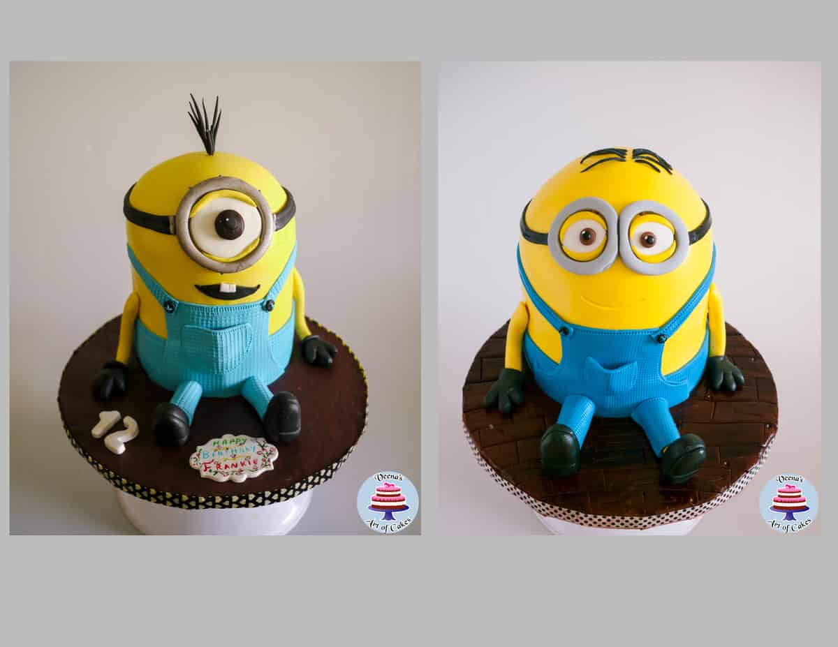 Kevin the minion Cake Veena Azmanov