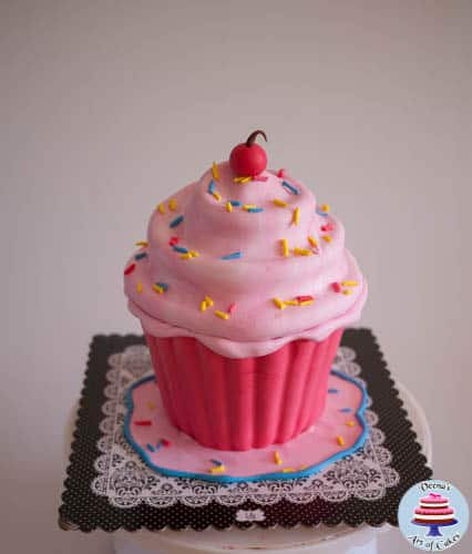 Giant Cupcake Tutorial-2-2
