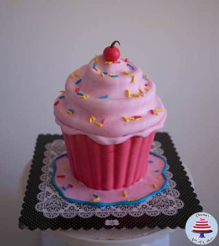 Giant Cupcake Tutorial-3-2