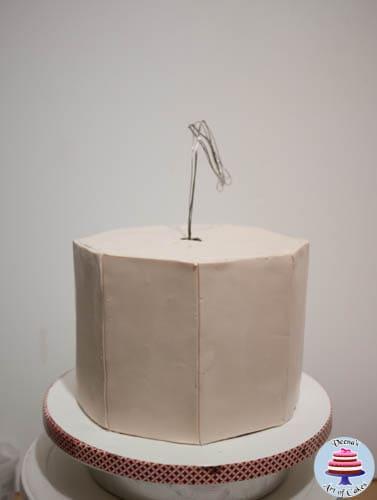 Hanging Bird House Cake -1-2