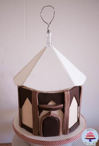 Hanging Bird House Cake -1-4