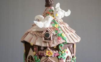 Hanging Bird House Cake -2-2
