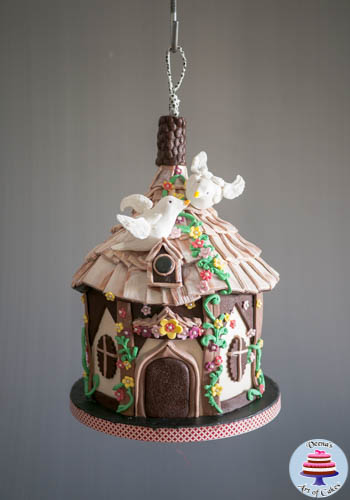 Hanging Bird House Cake -2-2
