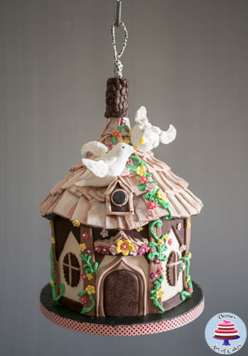 Hanging Bird House Cake -3-2
