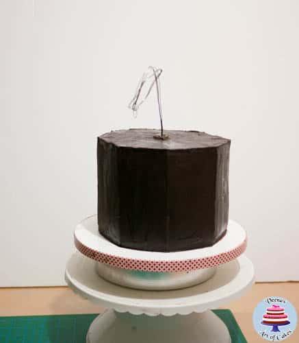 Hanging Bird House Cake -3