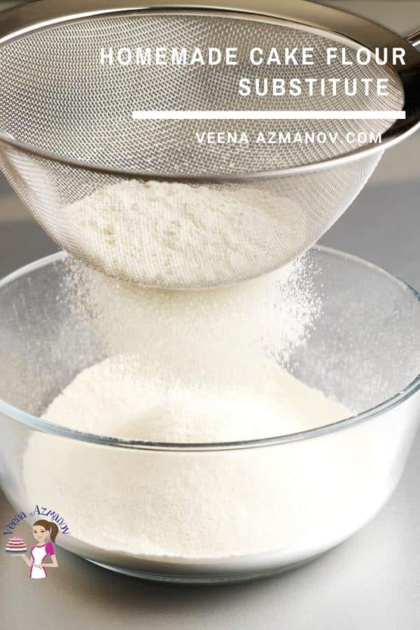 How to Make Homemade Cake Flour Substitute