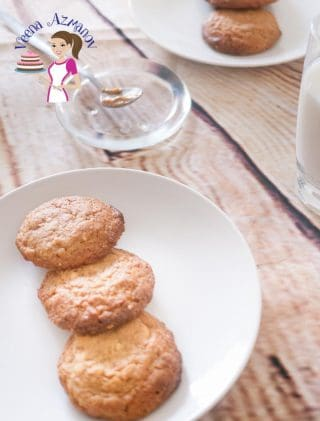 4 Ingredients Peanut Butter Cookies