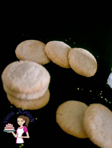 Soft, crisp cookies that melt in the mouth is what these white shortbread cookies are all about. So delicious that making extras is highly recommended. They simple easy and effortless to make taking no more than 15 minutes. No need to chill the dough or use any special equipment.