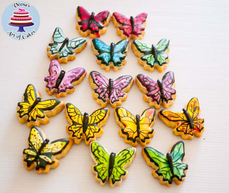 Butterfly Cookies VeenasArtofCakes First or Final Images (3)