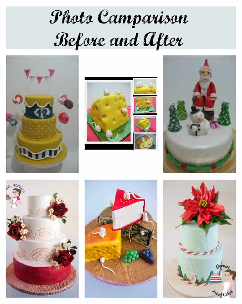 """What is the best camera for cake decorating and food photography? Over the last few years of cake decorating and food blogging if there is one most important lesson I have learned is """"good photos' good photos,' good photos'. No matter how awesome your cake or plate of food is; if you cannot get a good picture of it"""